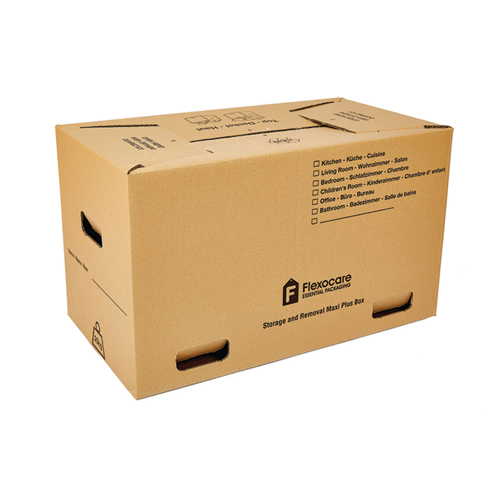 Flexocare Maxi Plus Removal Box 650 x 350 x 370mm (Pack of 10) 97292015