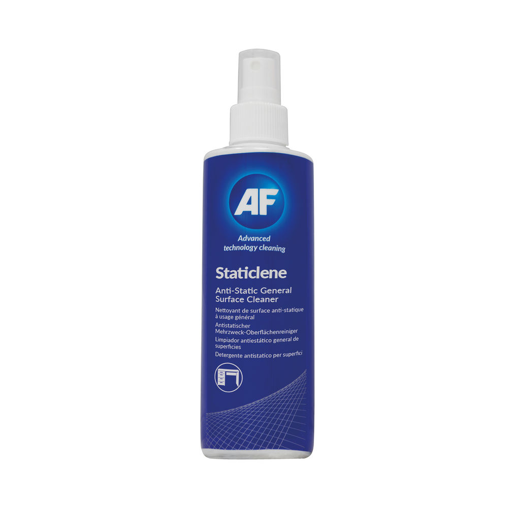 AF Staticlene Anti-Static Surface Cleaner 250ml ASTA250D
