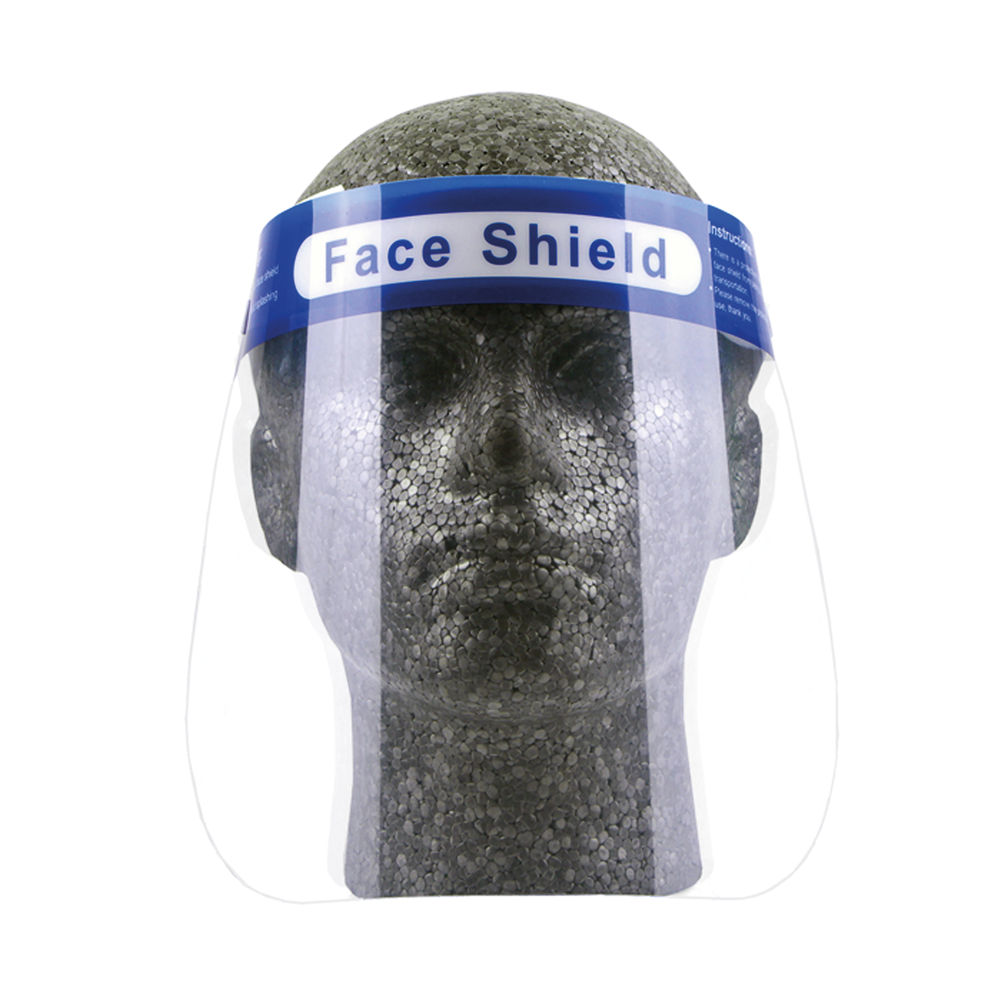 Protective Face Shield Clear (Pack of 10) CMRXFS01