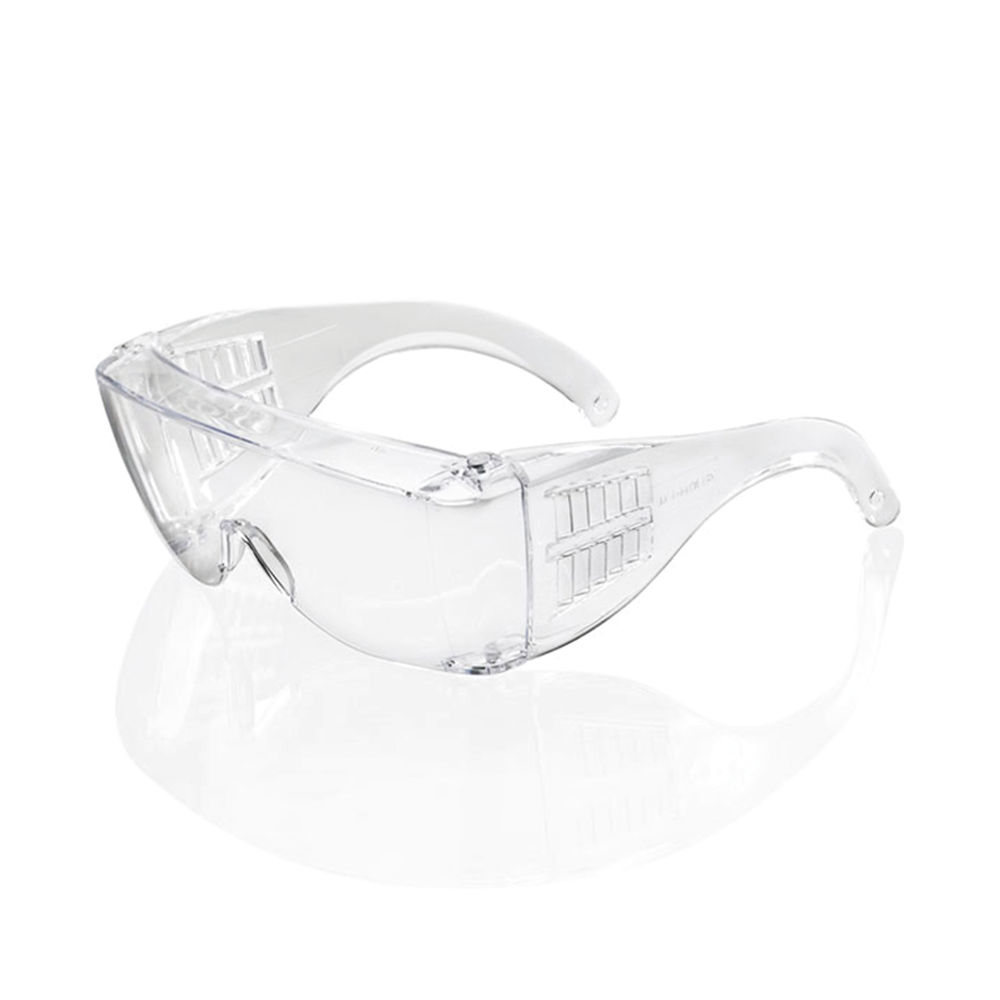 B Brand Seattle Safety Glasses Wraparound Clear (Pack of 10) BBSS