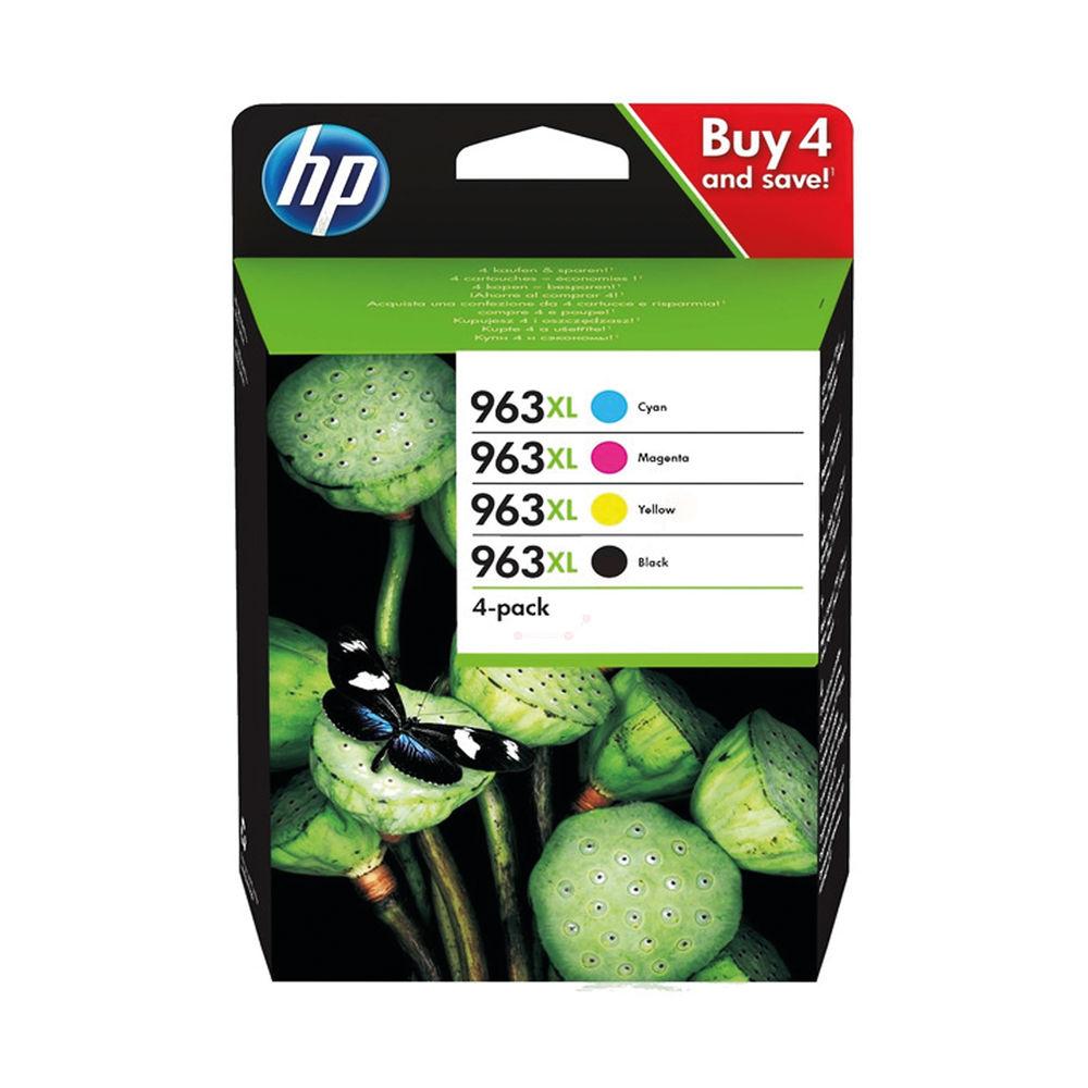 HP 963XL Original KCMY High Yield Inkjet Cartridge (Pack of 4) 3YP35AE