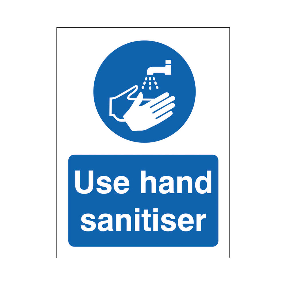 Safety Sign Use Hand Sanitiser SRP 200 x 300mm M401SRP-200X300