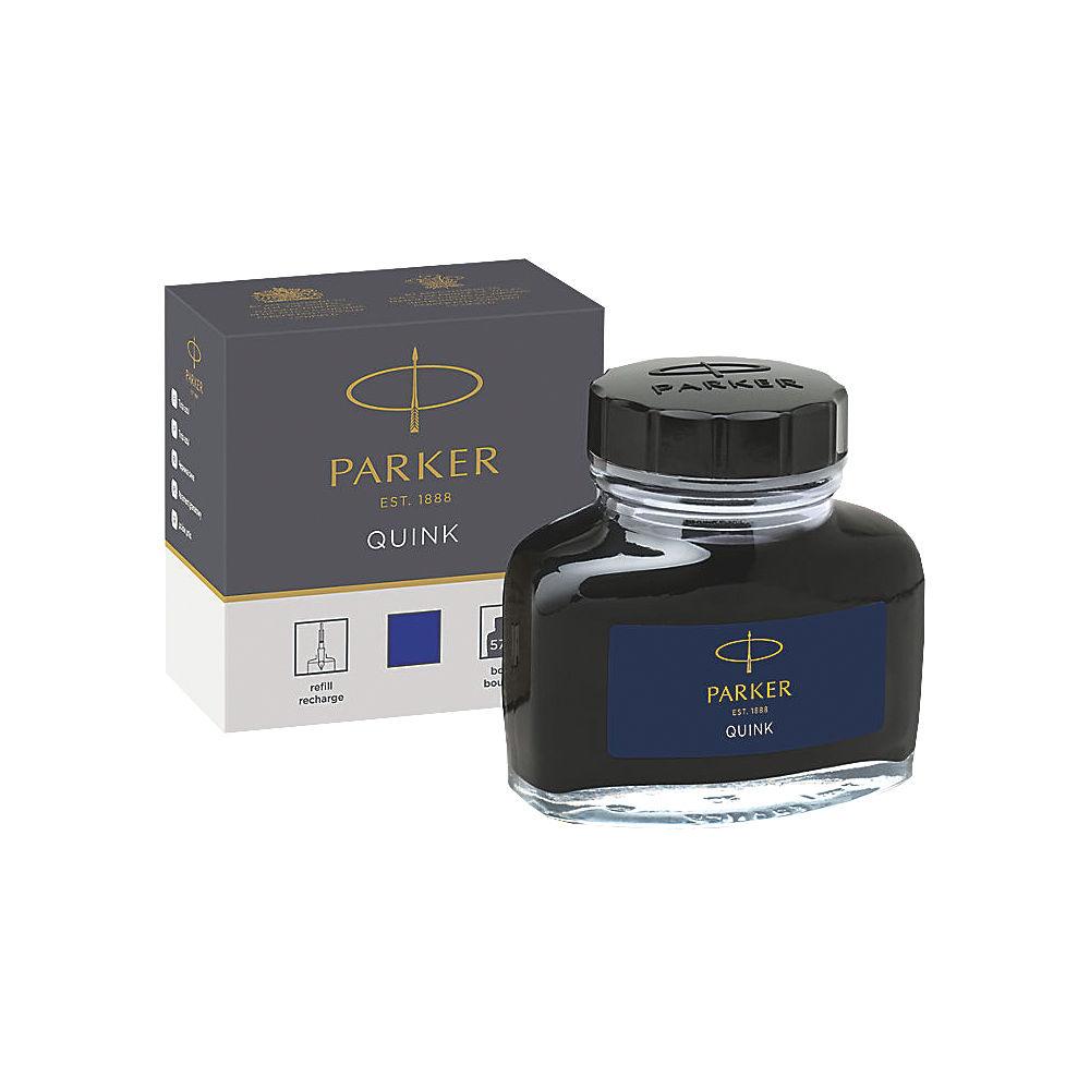 Parker Quink Permanent Ink Bottle Blue 2oz S0037470