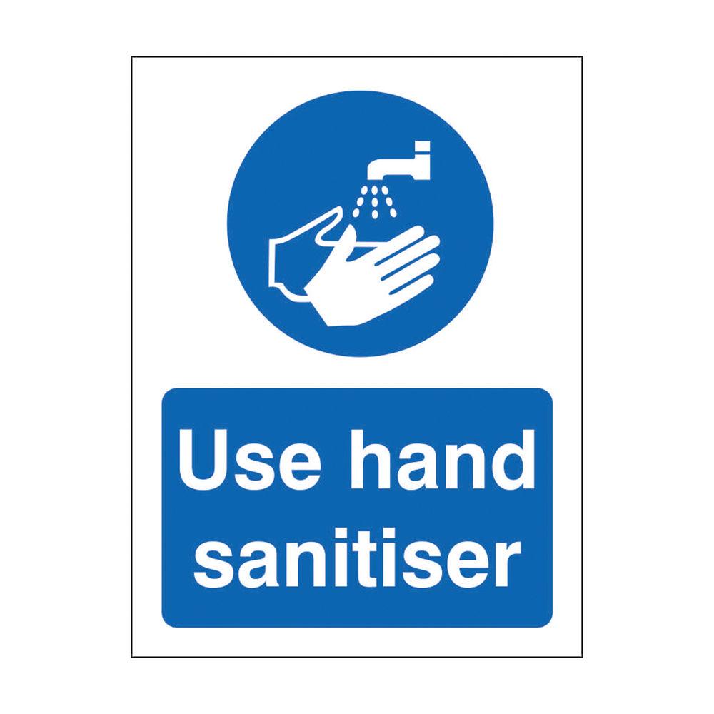 Safety Sign Use Hand Sanitiser SRP 150 x 200mm M401SAV-150X200