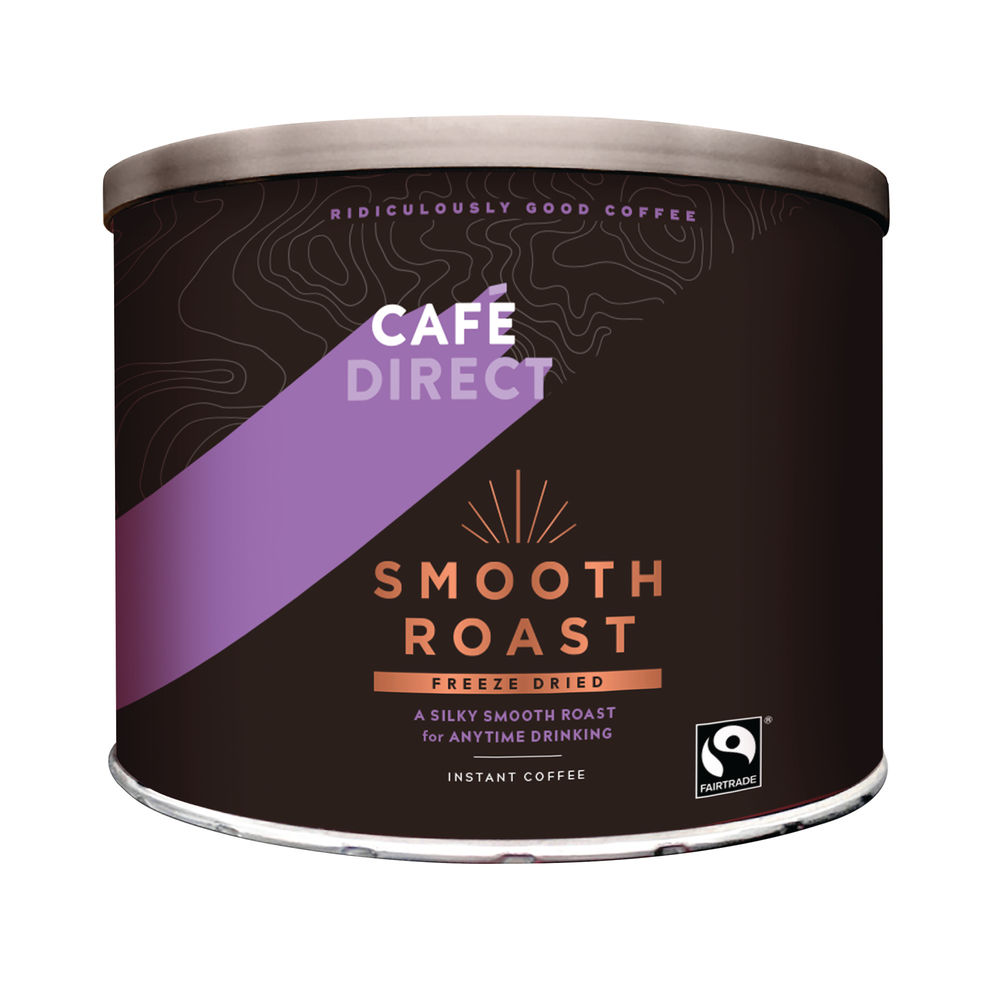 Cafedirect Smooth Roast Freeze Dried Coffee Tin 500g
