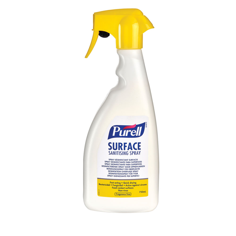 Purell 750ml Surface Sanitising Spray - 32675-06-EEU
