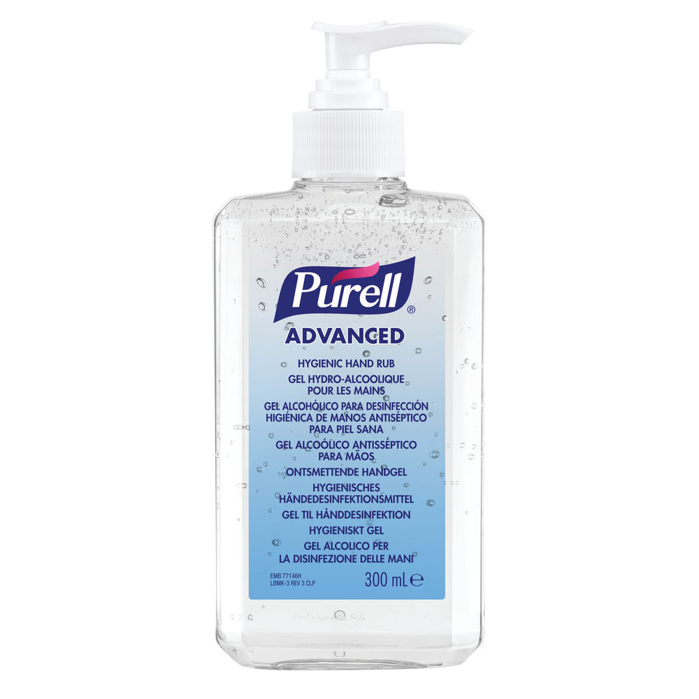 Purell Advanced Hygienic Hand Rub 300ml Bottle - 9659-12-EEU00