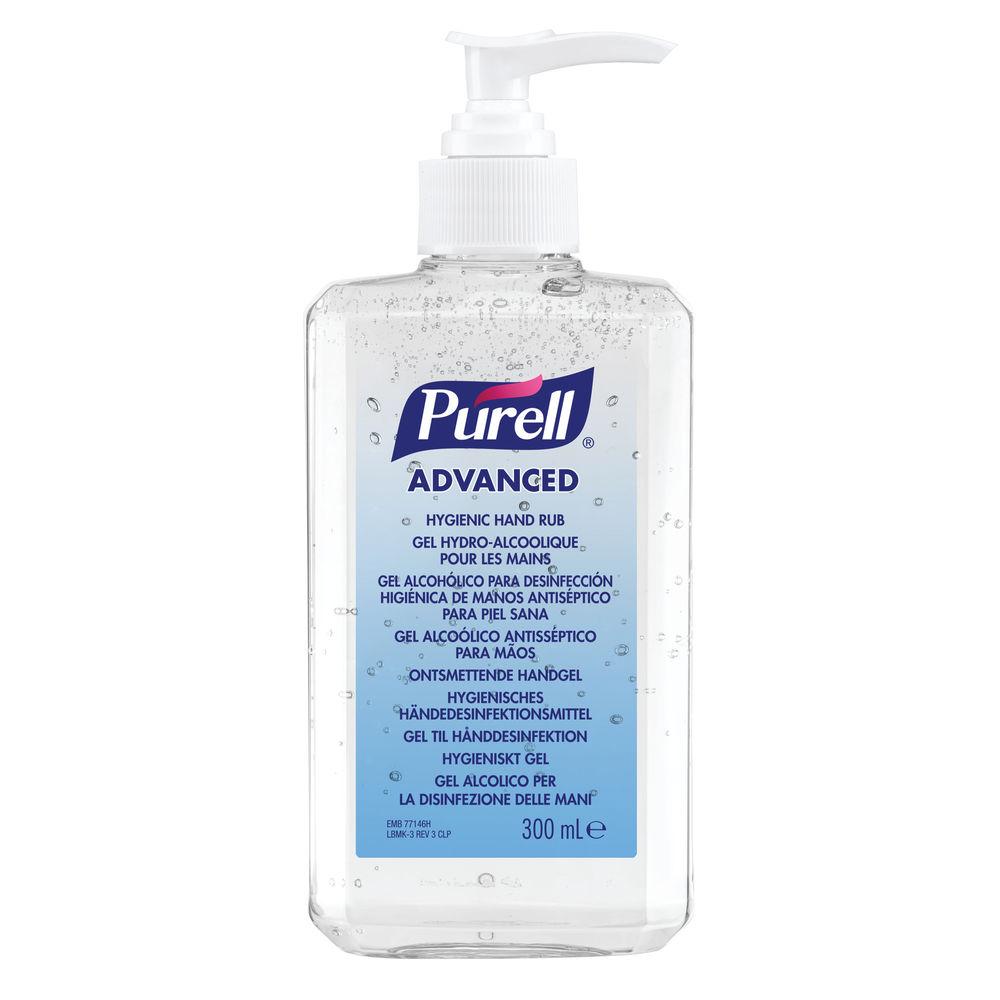 Purell Advanced Hygienic Hand Rub 300ml Bottle - 9659-12-EEU00