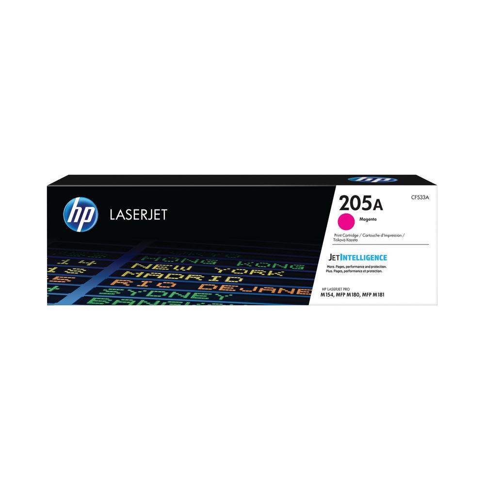 HP 205A Magenta LaserJet Toner Cartridge CF533A