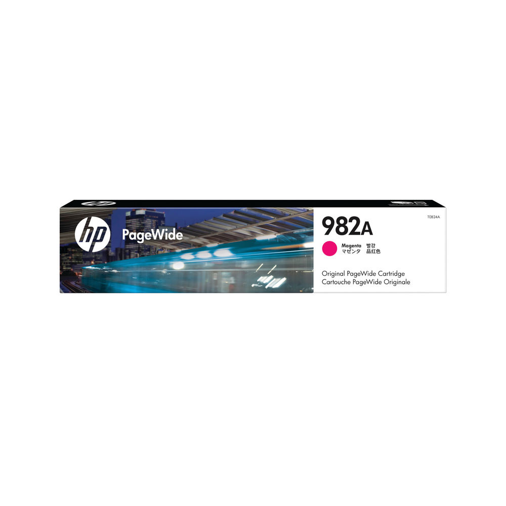 HP 982A Magenta PageWide Cartridge T0B24A
