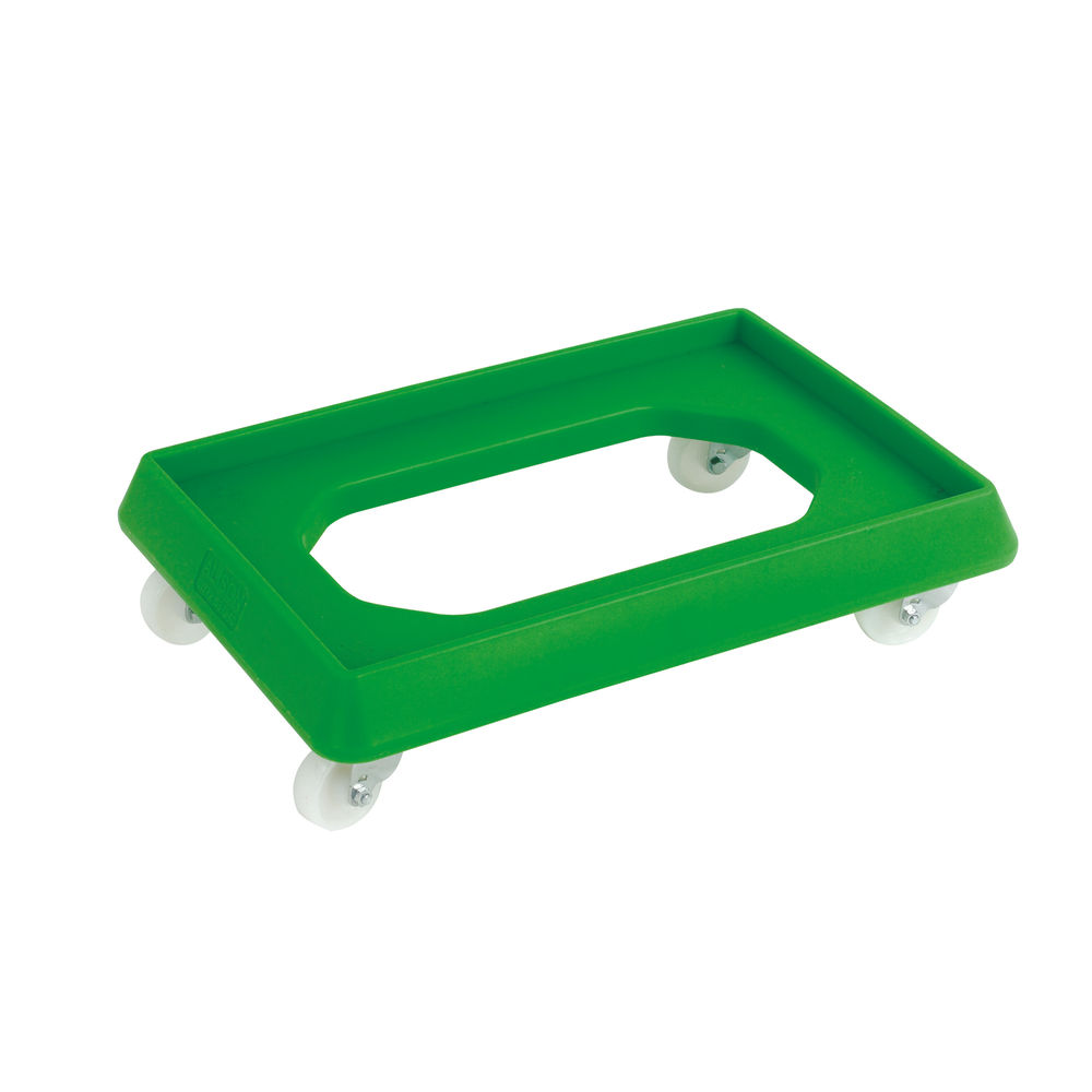 VFM Green Plastic Dolly - 382991