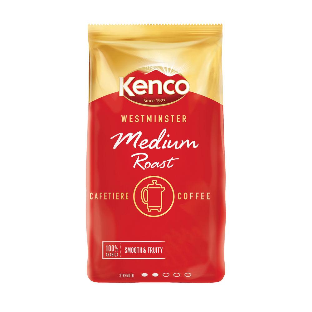 Kenco Westminster Medium Roast Cafetiere Coffee 1kg 24178