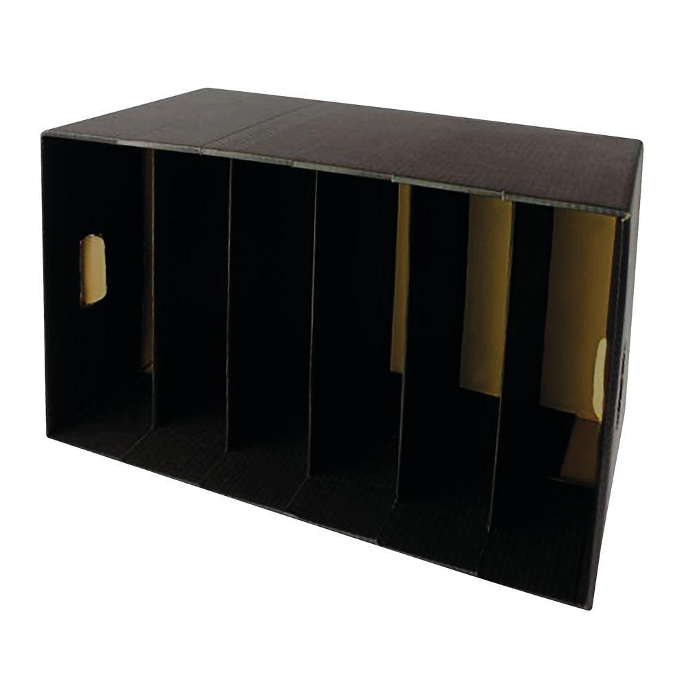 Q-Connect Black Lever Arch File Storage Module - KF01594