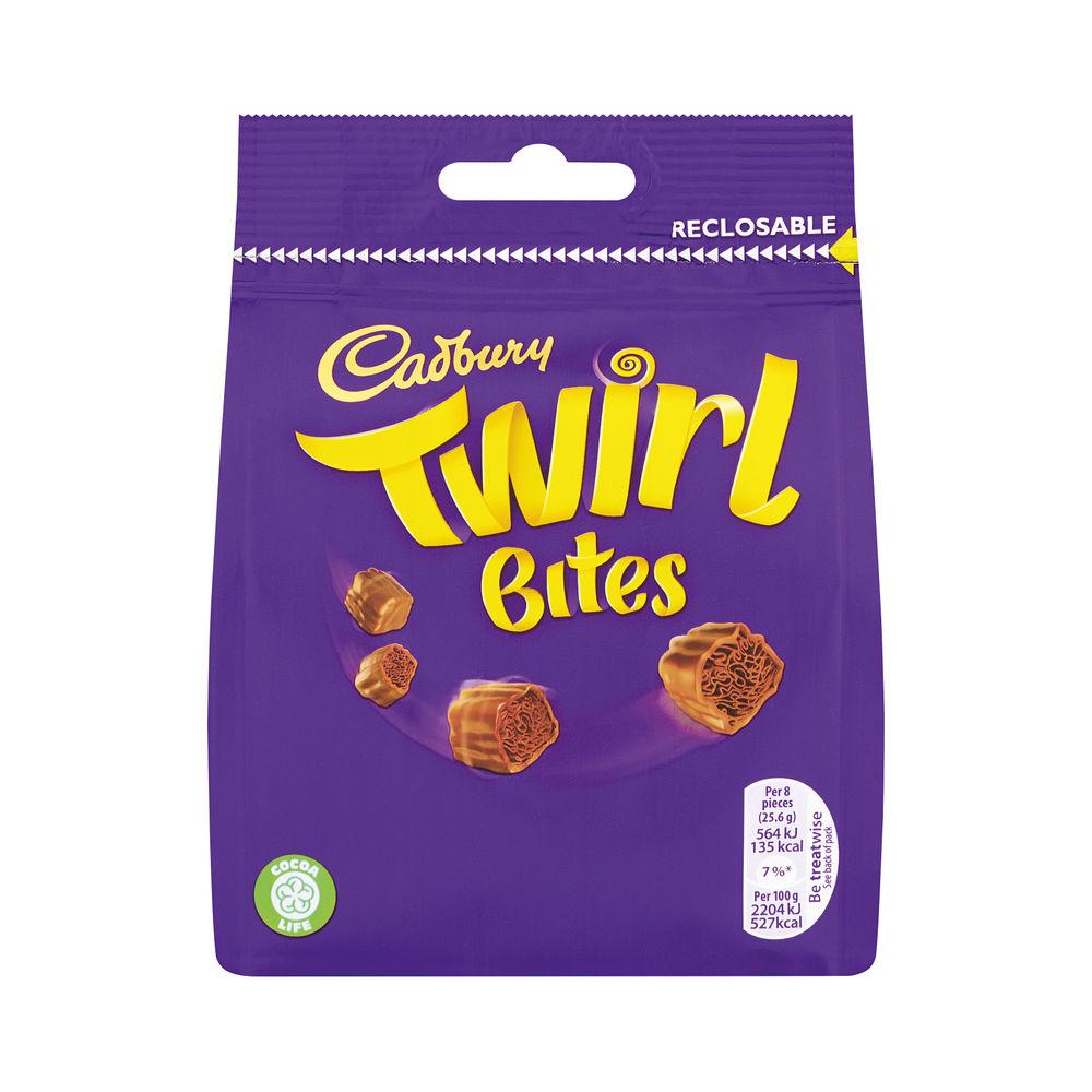 Cadbury 95g Twirl Bites Share Bag - 4240114