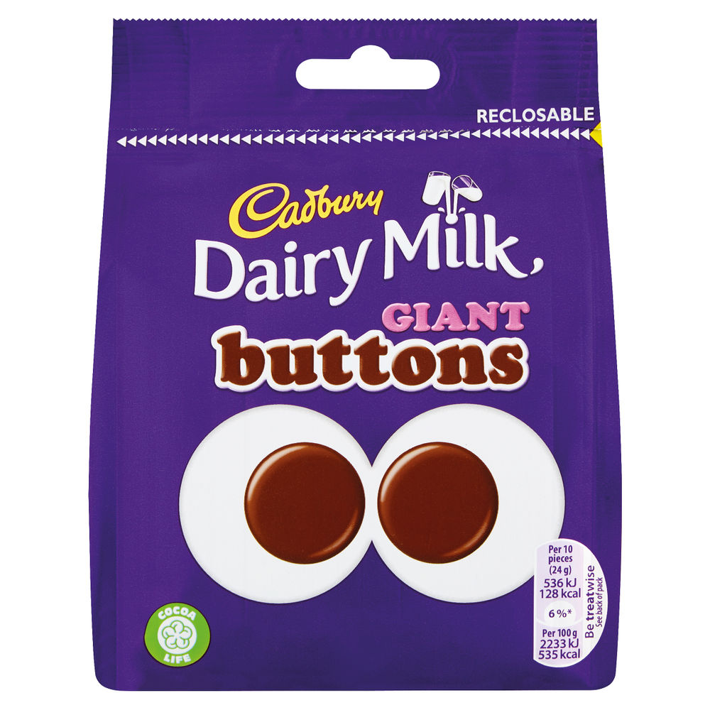 Cadbury 95g Giant Buttons Share Bag - 4240133