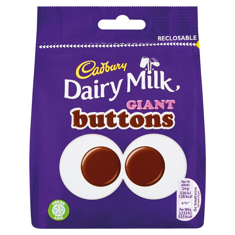 Cadbury 95g Giant Buttons Share Bag - 4240133