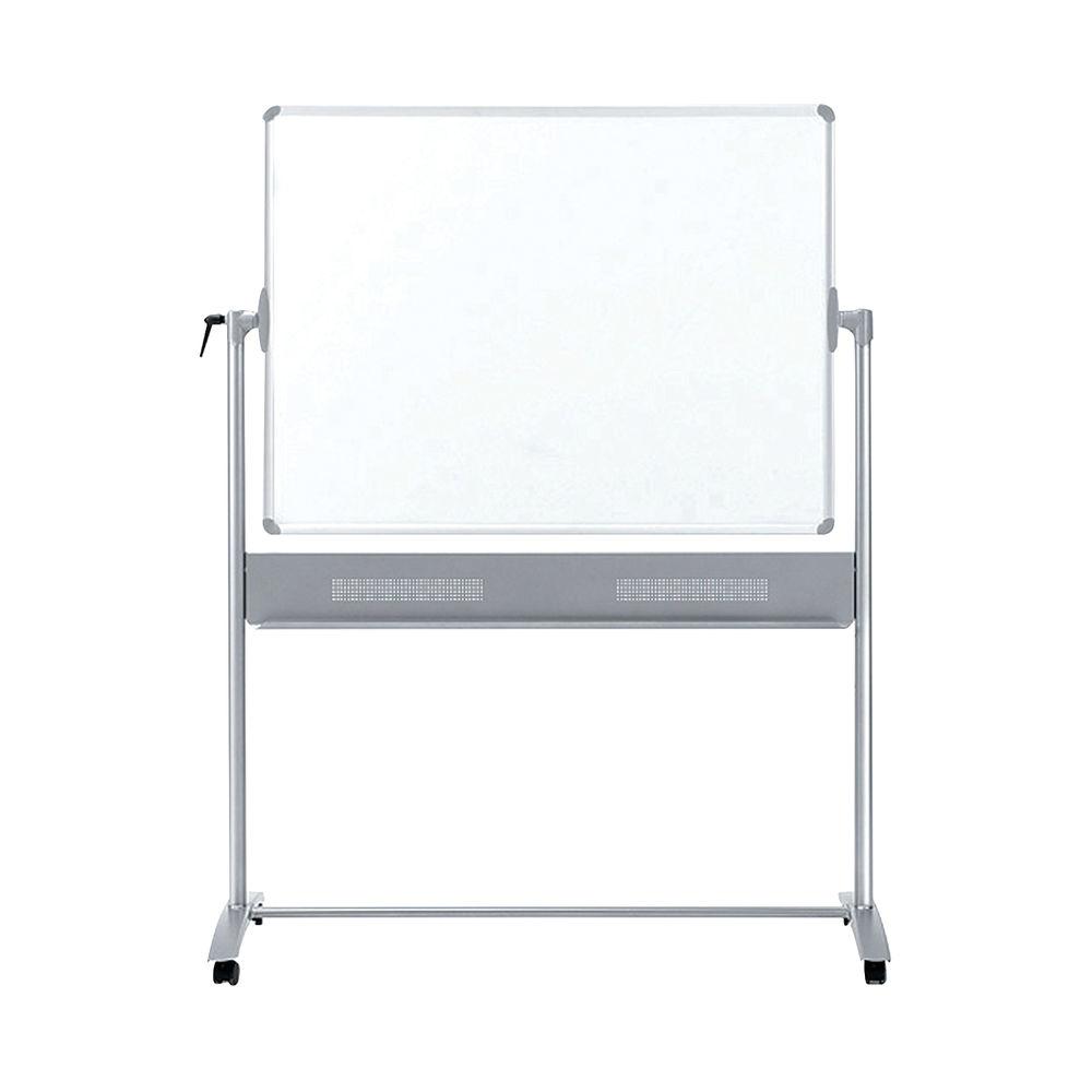 Nobo Basic Melamine Mobile Whiteboard 1500 x 1200mm 1905240