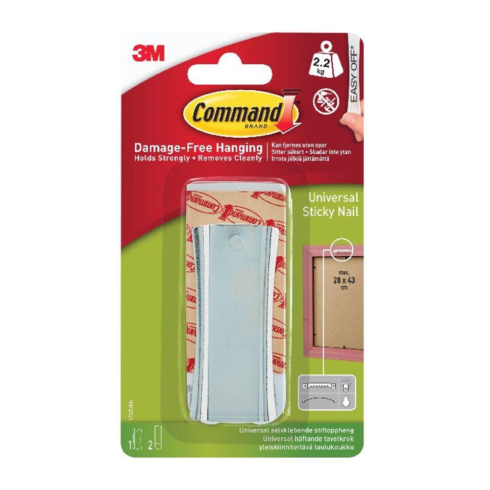 Command Universal Metal Picture Hanger 1HK+2S Large+4S Mini 17047