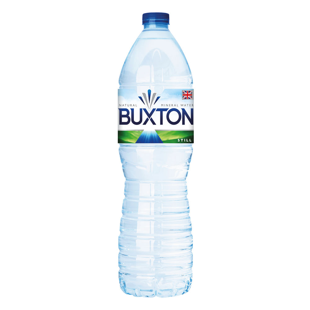 Buxton 1.5 Litre Still Water Bottles, Pack of 6 - 12020136