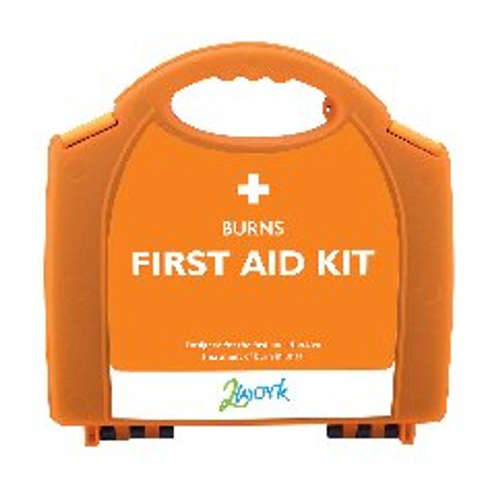 2Work Burns First Aid Kit Small X6090