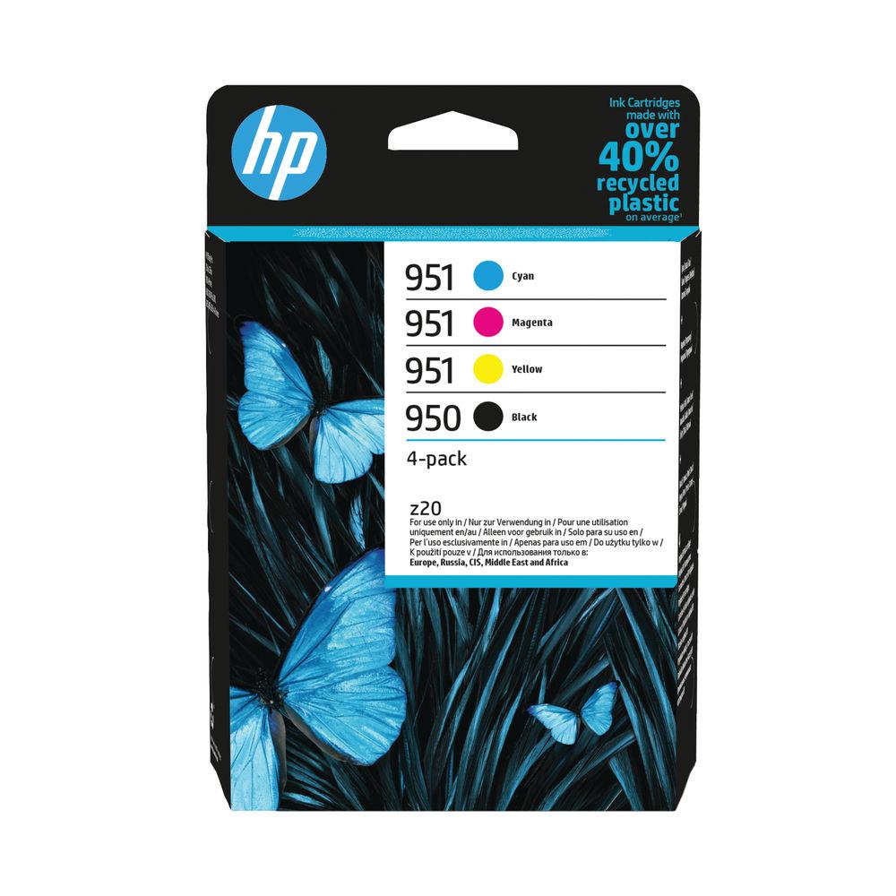 HP 950 Black / HP 951 CMY Original Ink Cartridge (Pack of 4) 6ZC65AE