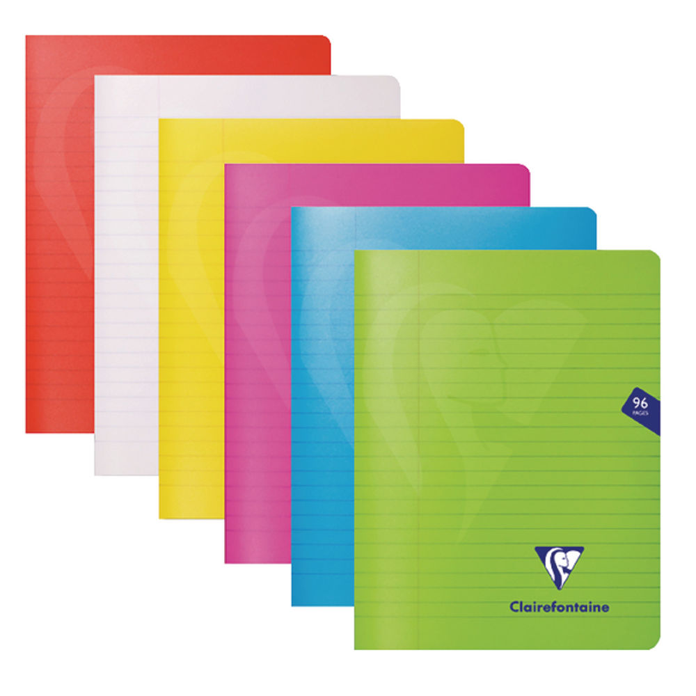 Clairefontaine Assorted A5 Mimesys Notebooks, Pack of 10 - 303745C
