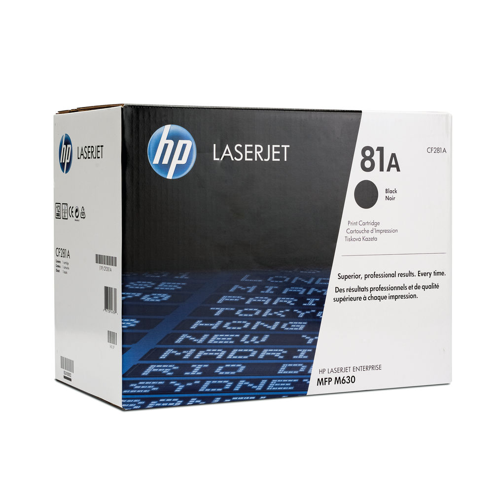 HP 81A LASERJET CARTRIDGE BLACK