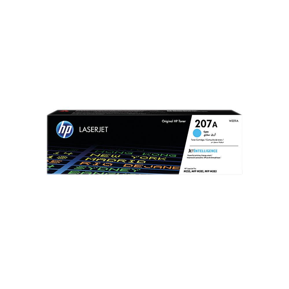 HP 207A LaserJet Cyan Toner Cartridge W2211A