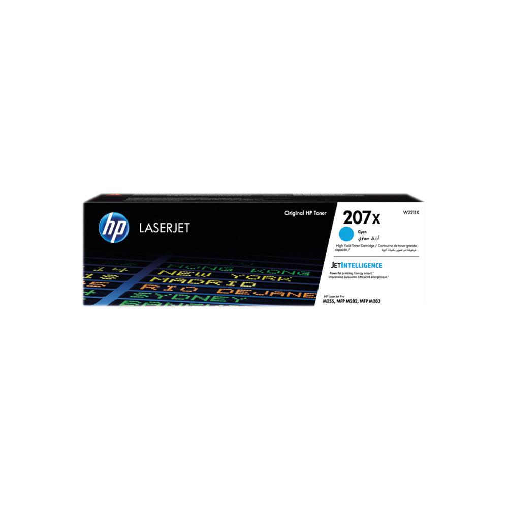 HP 207X LaserJet High Yield Cyan Toner Cartridge W2211X