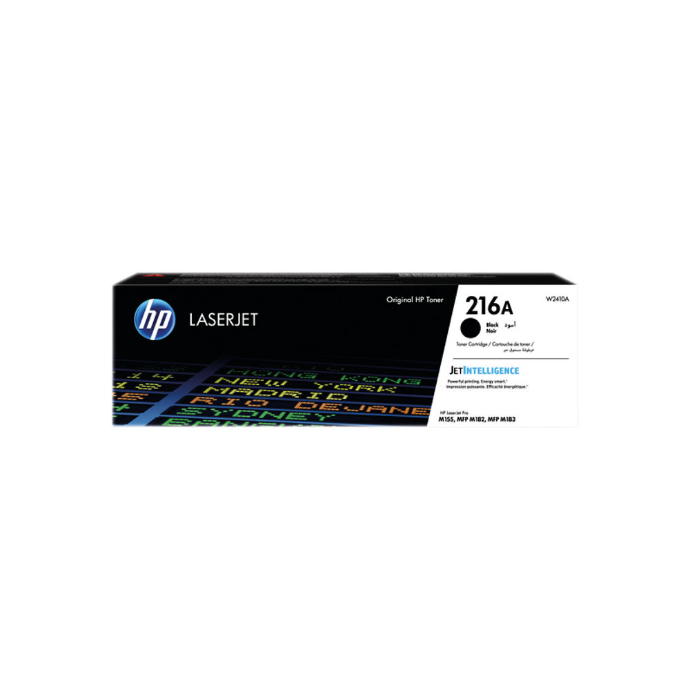 HP 216A LaserJet Black Toner Cartridge W2410A