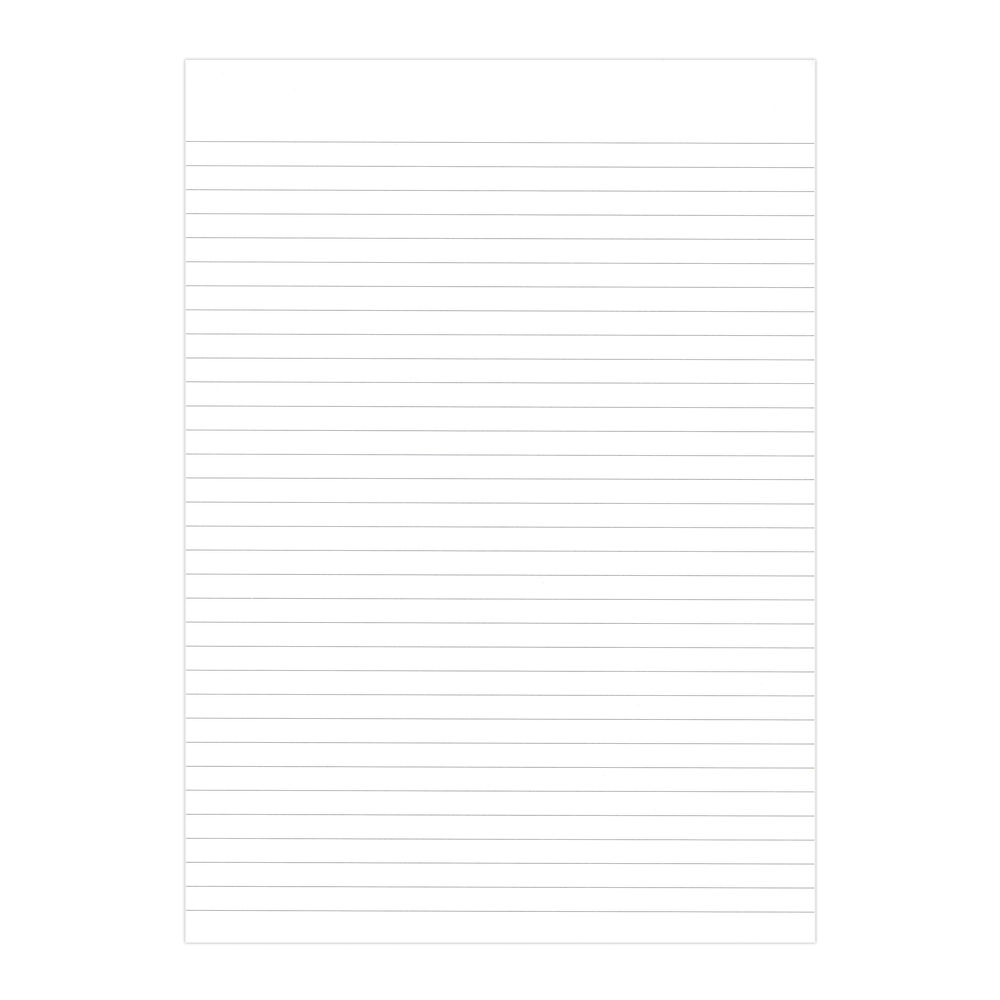 Graffico Recycled Memo A4 Pad Feint Ruled - 160 Pages (Pack of 10) - 9100036