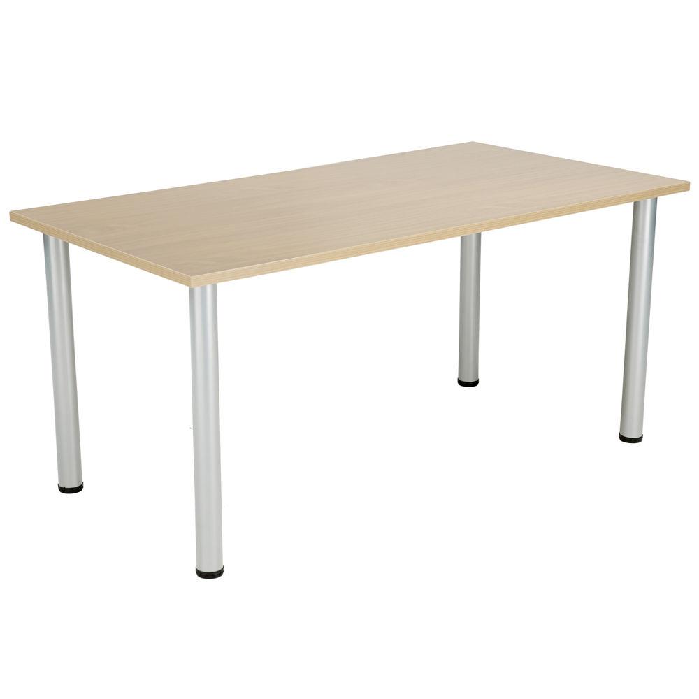 Jemini 1800mm Maple Rectangular Meeting Table