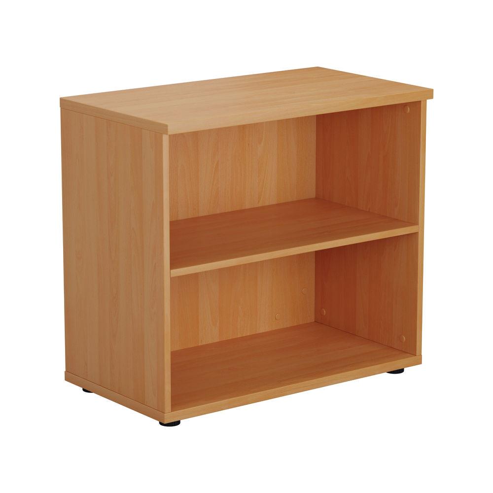 First 700mm Beech Wooden Bookcase