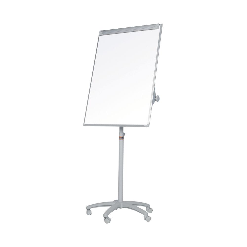 Bi-Office Classic Mobile Easel Magnetic 700 x 1000mm Grey EA4806176GR