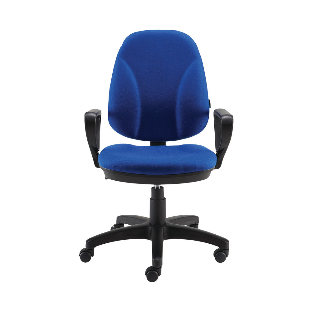 Staples Blue Operator Office Chair with Arms - 50511