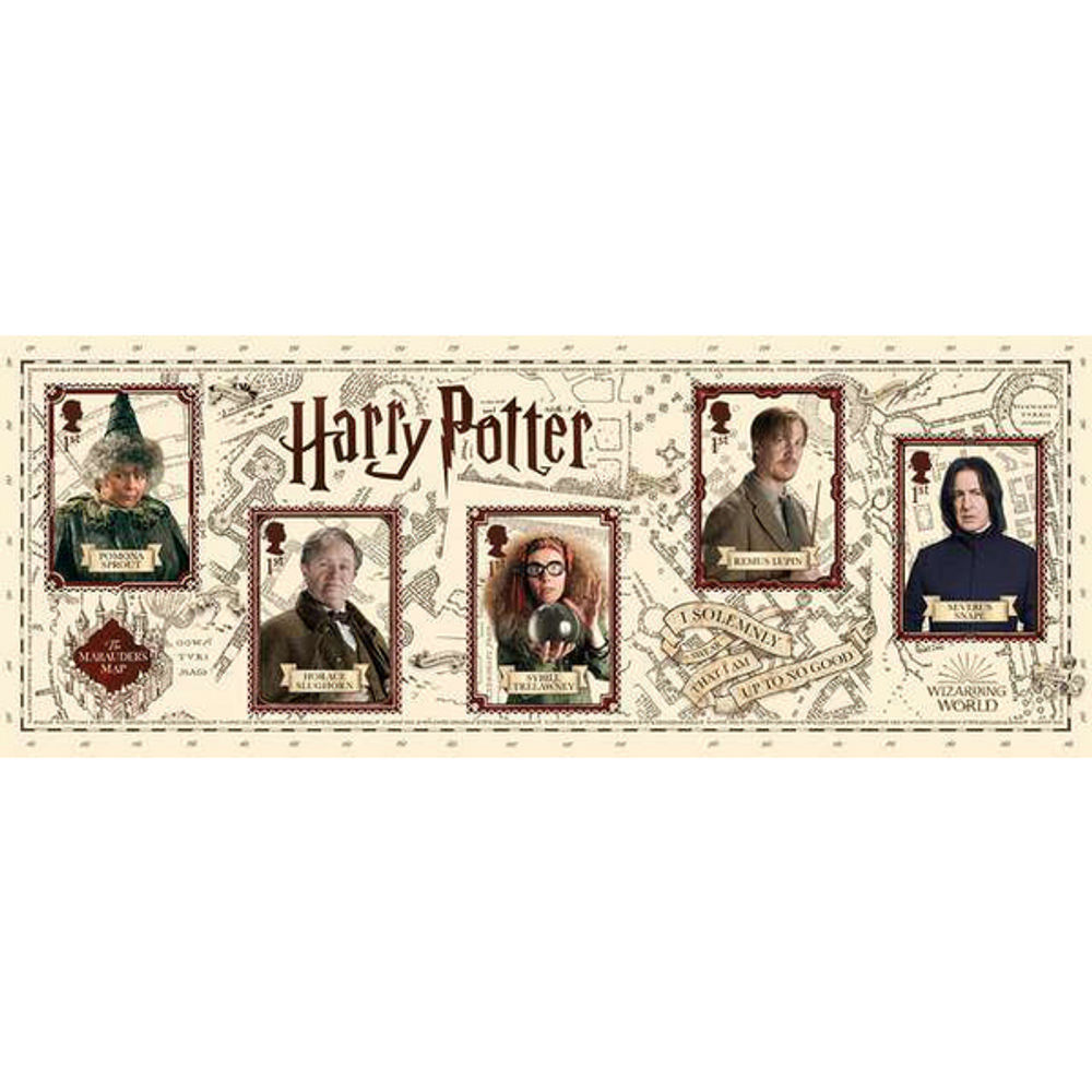 The Harry Potter Miniature Sheet - MZ134