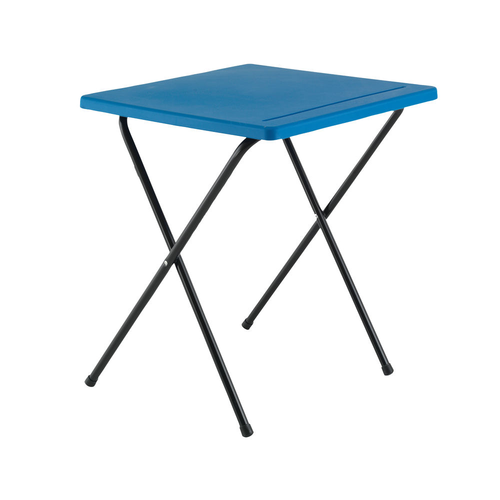 Titan Blue Folding Exam Desk