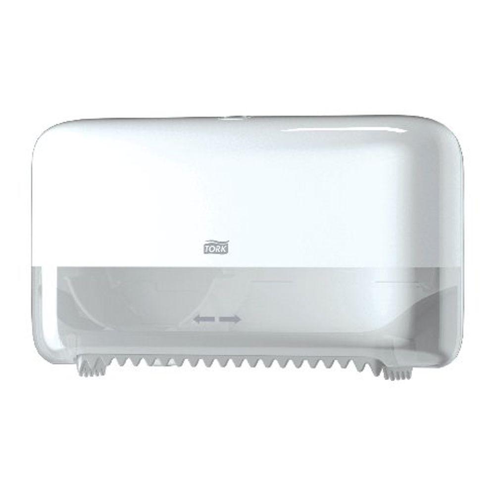 Tork T7 Coreless Mid-Size Toilet Paper Dispenser Blue 558040