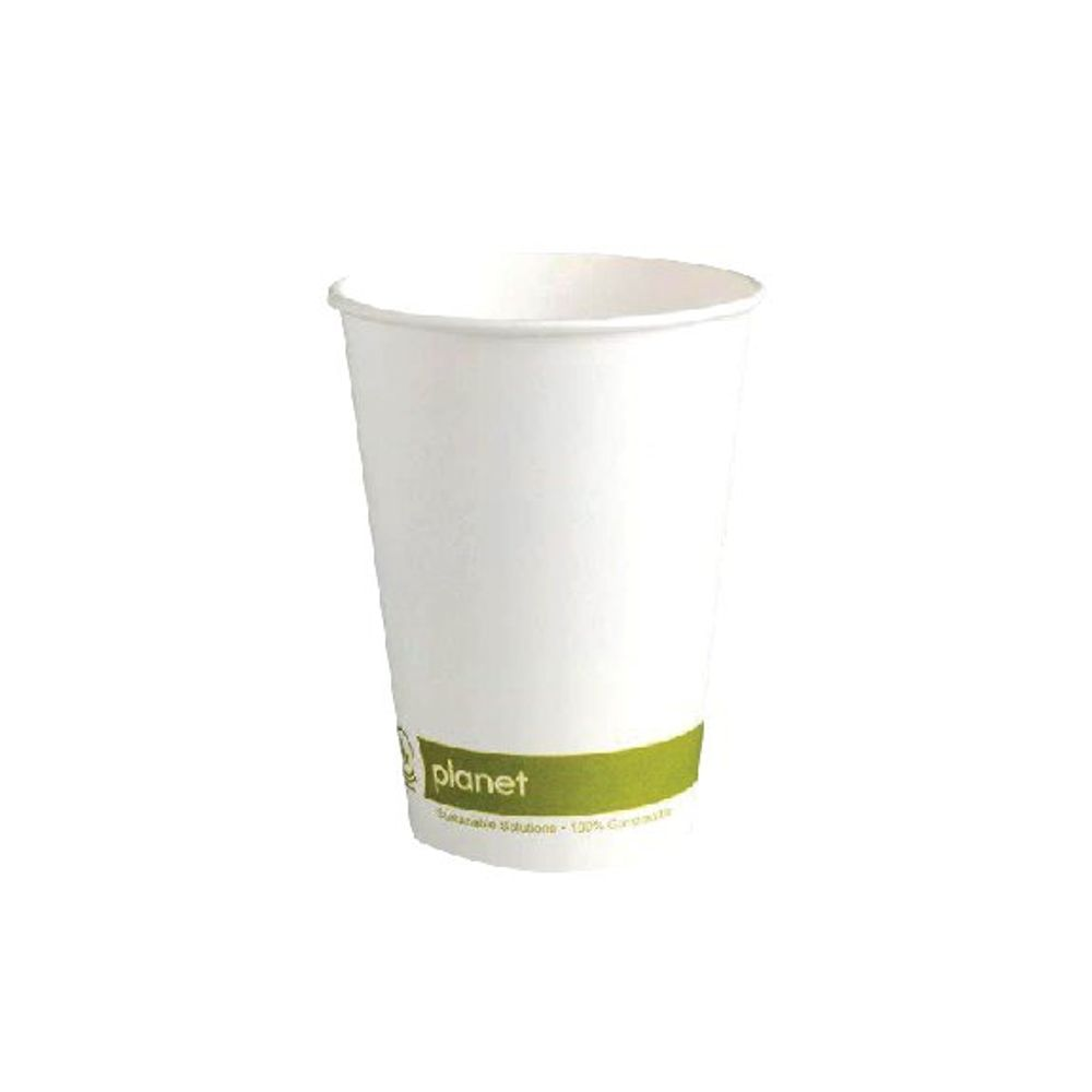 Planet 8oz Single Wall Cups (Pack of 50) HHPLASW08