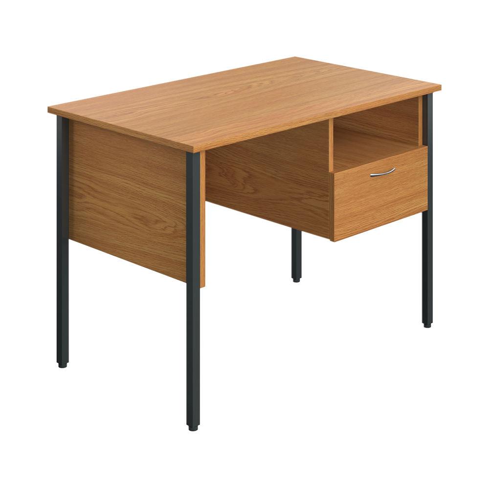 Jemini Eco 18 Oak 4 Leg Homework Desk