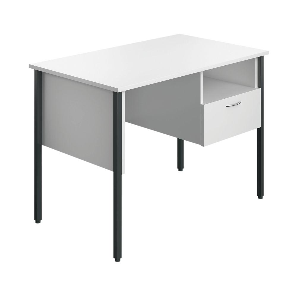 Jemini Eco 18 White 4 Leg Homework Desk