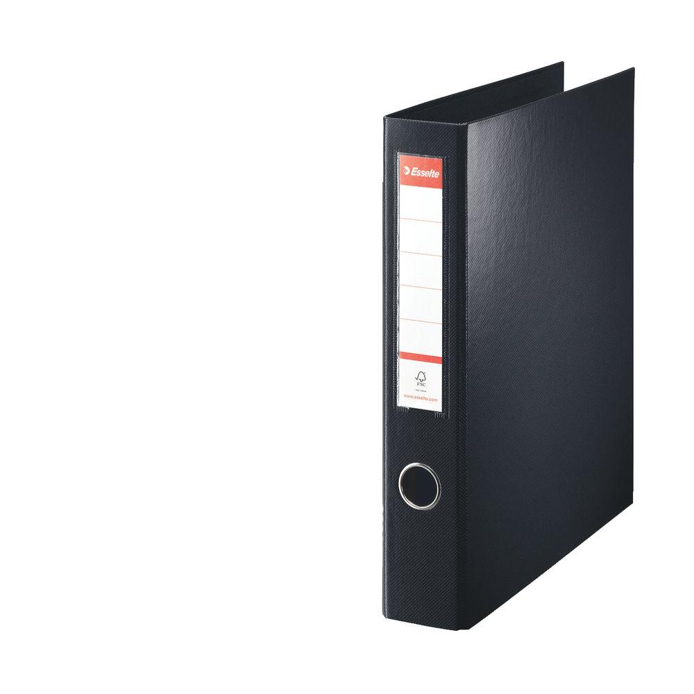Esselte Black A4 Maxi 4 D-Ring Binder 40mm - 82407