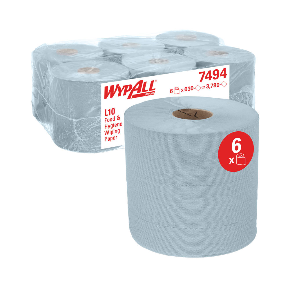 Wypall Centre Feed Roll (Pack of 6) – 7494