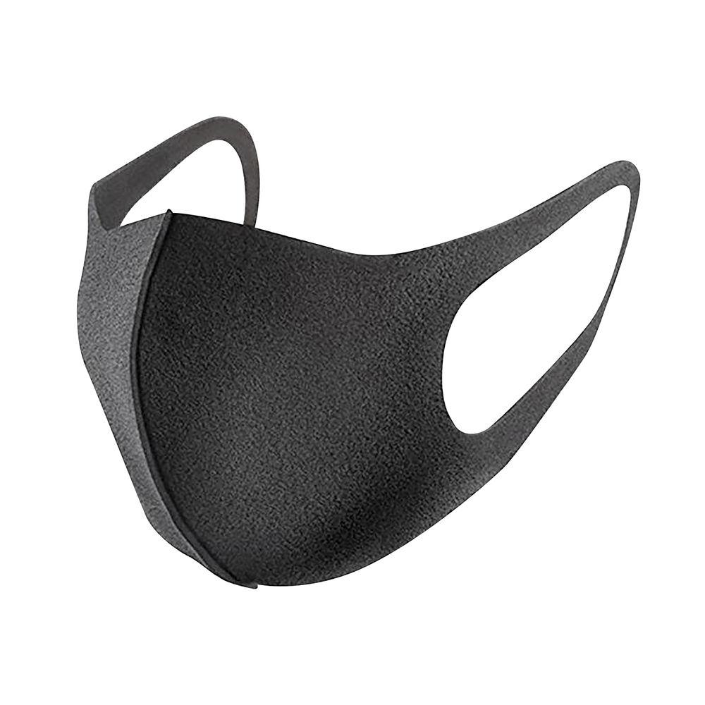 Reusable Black Polyurethane Face Mask
