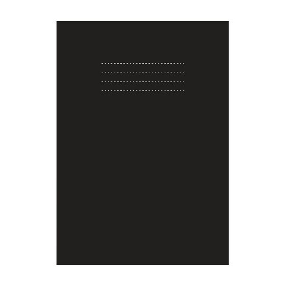 Nu Education A4 Black Sketchbook, Pack of 50 - NU602007