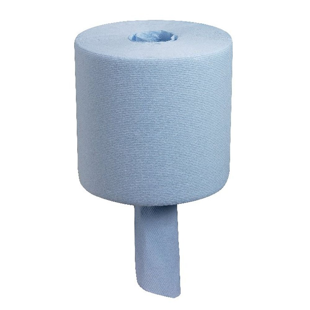 Wypall L10 Blue Wiper Centrefeed Roll, Pack of 6 - 7267