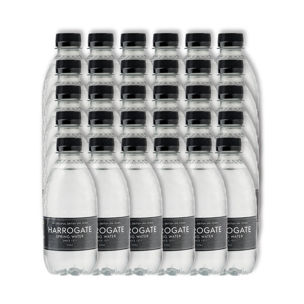 Harrogate Spa - Still Bottled Spring Water 330ml - Pack of 30 - P330301S