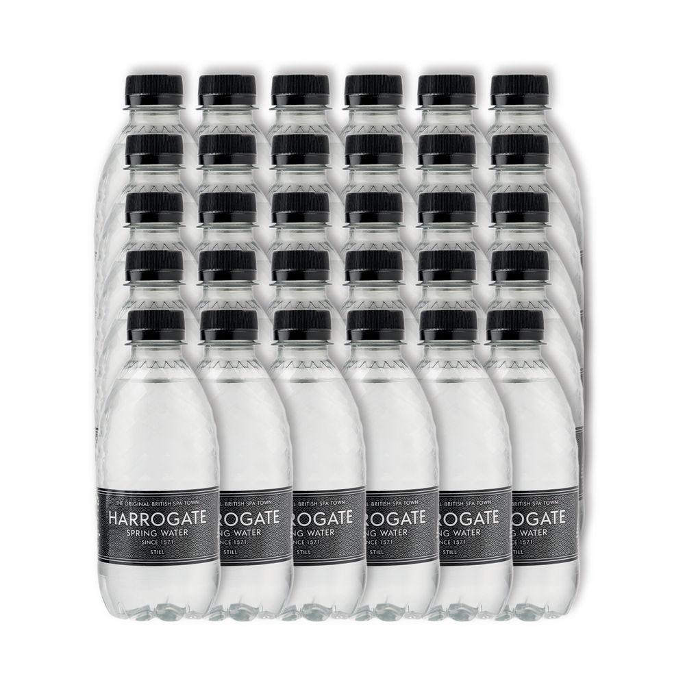 Harrogate 330ml Still Spring Water Bottles, Pack of 30 | P330301S
