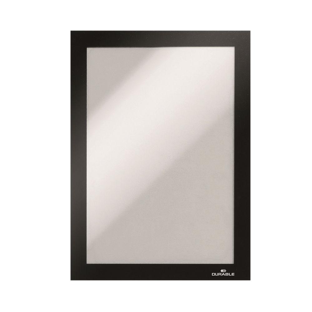 Durable Duraframe Self-Adhesive A3 Black (Pack of 6) 488301