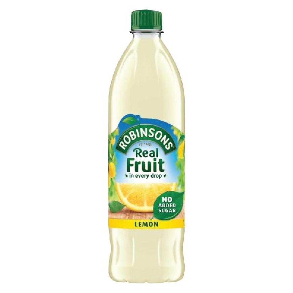 Robinsons 1 Litre No Added Sugar Lemon Squash   402044
